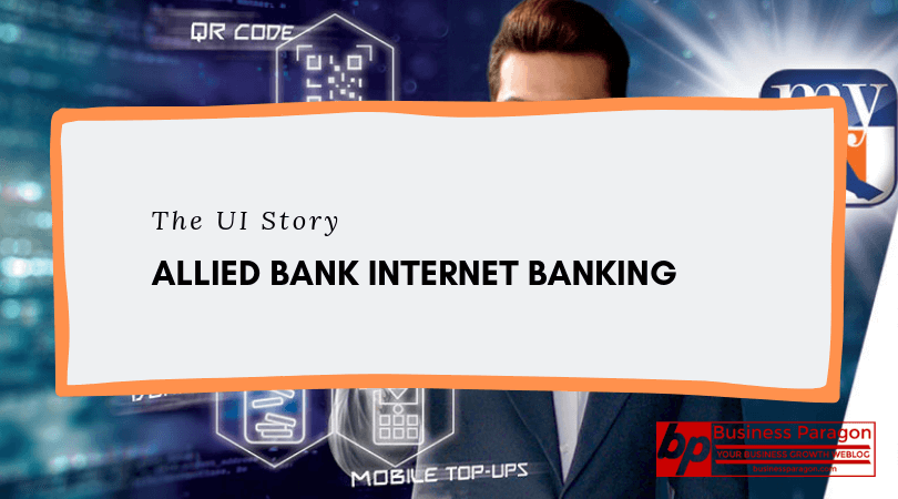 Allied Bank Internet Banking UI