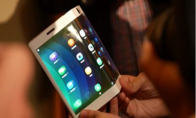 LG Folding Screen Phone