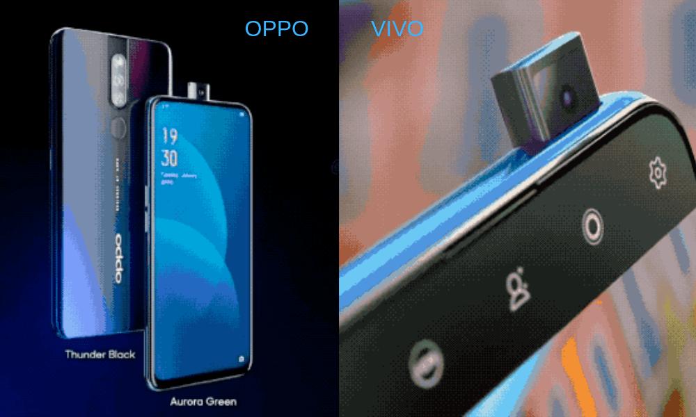 Oppo and Vivo Lift Camera 2018