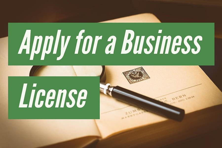 Apply For Business Licenses
